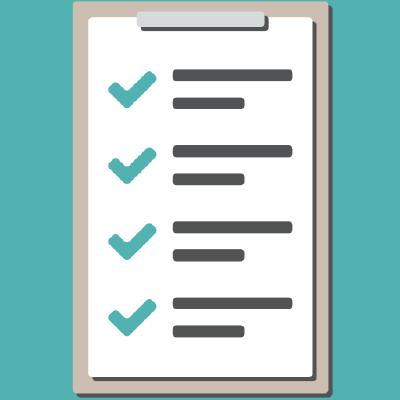 Task list completed logo